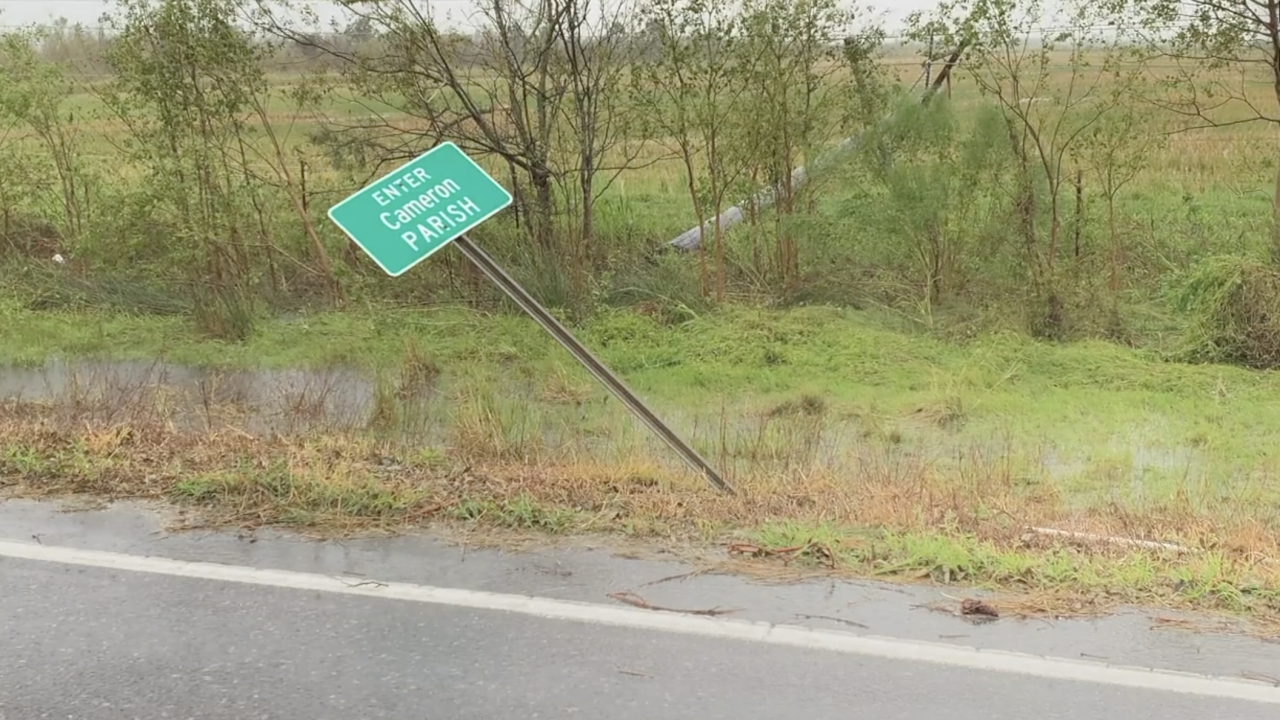 Some Louisiana coastal communities remain cut off since Hurricane Laura
