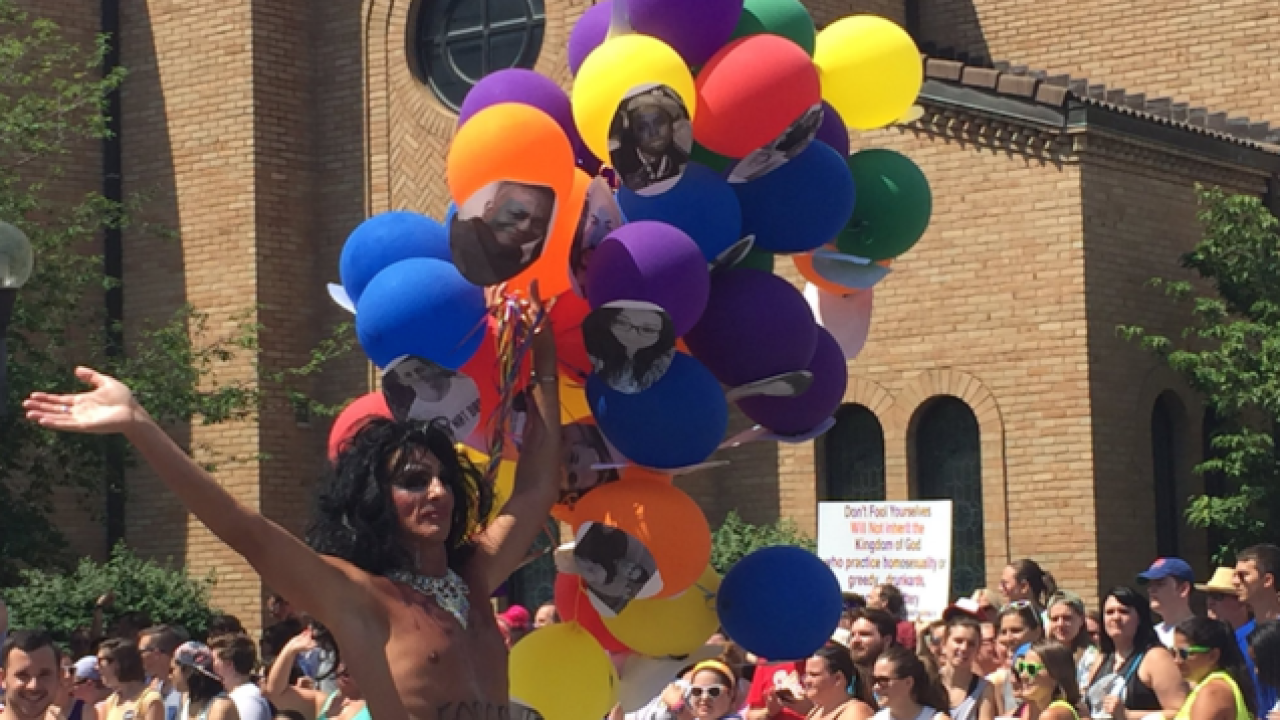 With increased security, gay pride parades in Chicago and Columbus go off without a hitch
