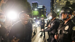 APTOPIX Minneapolis Police Death Los Angeles