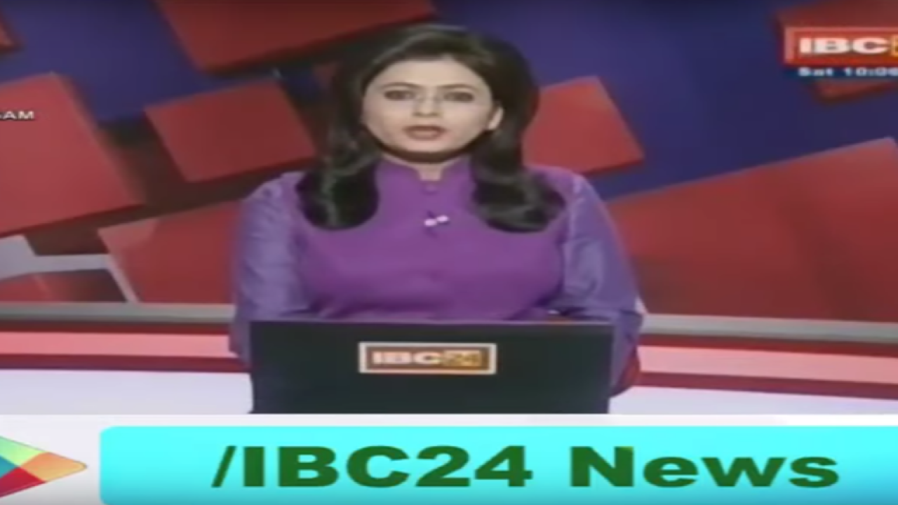Indian anchor learns husband died in story she's reporting