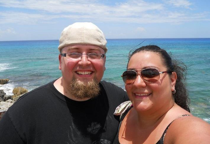 Photos: Couple tired of being 'fat,' 'invisible' drops almost 300 pounds in life change
