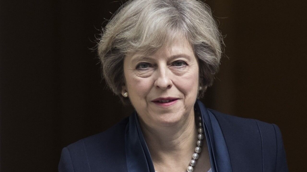 Britain's Theresa May calls for early election, stunning UK political world