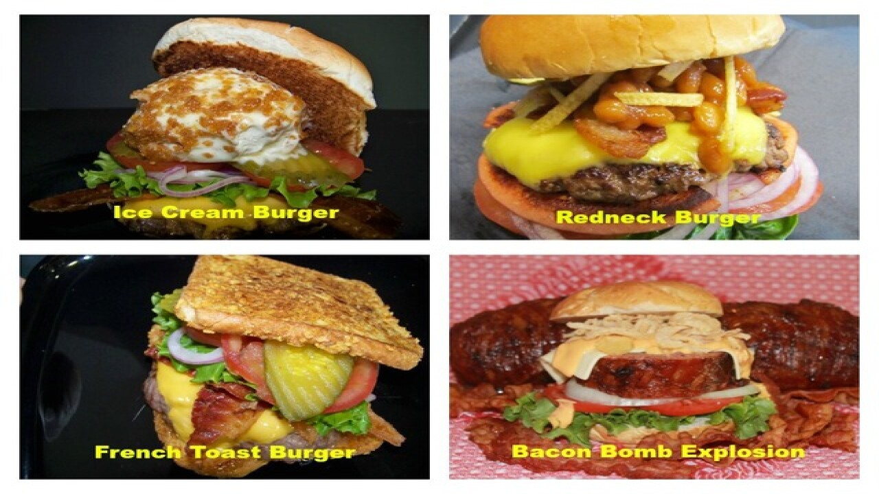Vote for your favorite Florida State Fair burger