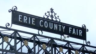 Erie County Fair Sign