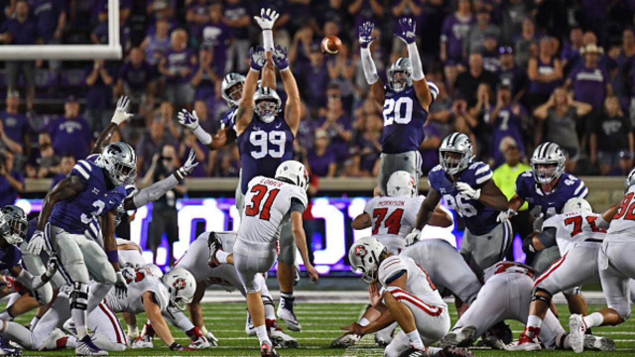 K-State fights back to win season opener 27-24