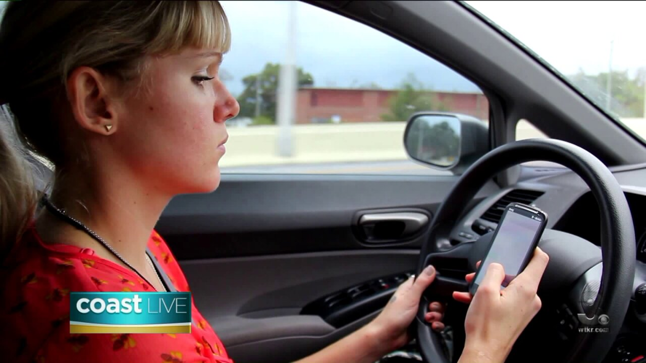 The dangers of distracted driving on CoastLive