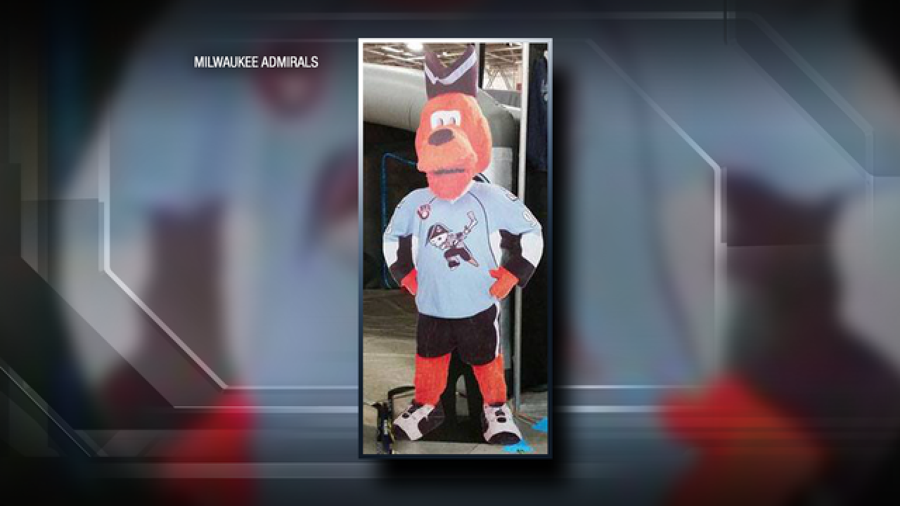 Missing Roscoe cutout found intact