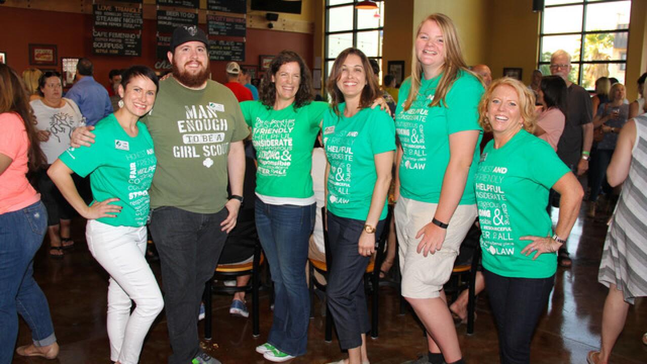 Girl Scouts host Cookies & Kegs