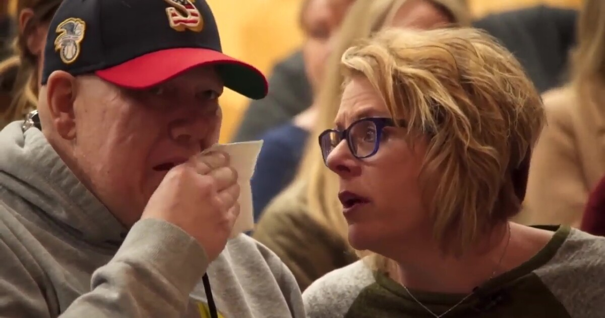 Ailing Montana man gets his final wish: Seeing his son graduate from high school