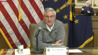 Gov. Holcomb working with border states on reopening plans