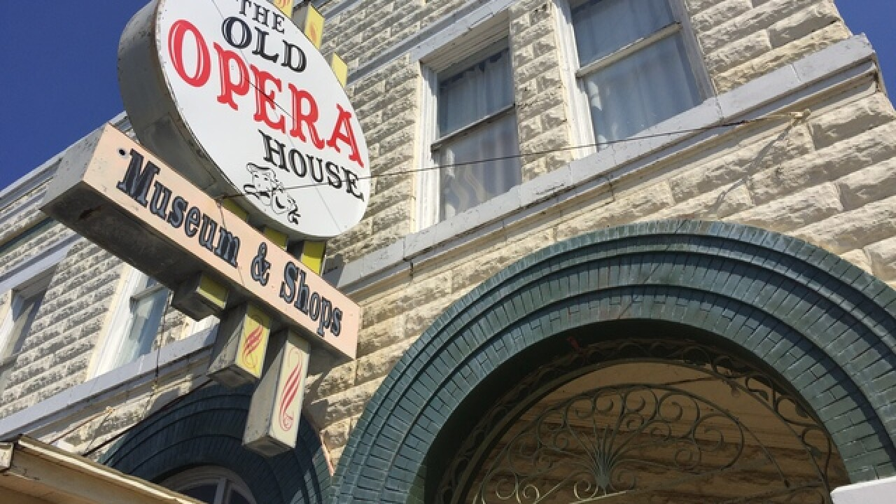Ghost hunting at the Arcadia Opera House