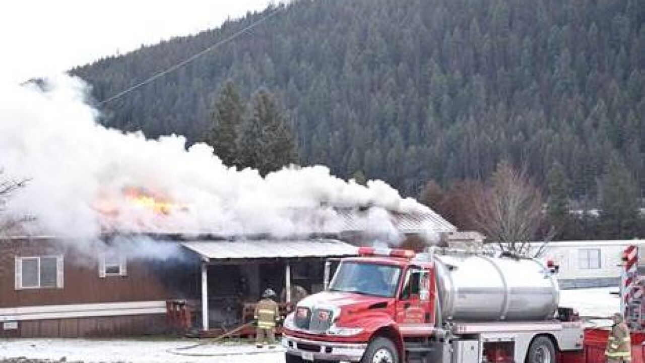Fatal Libby House Fire Western News Credit