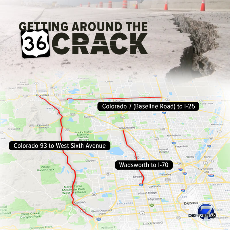 Cracked U.S. 36 still shifting, and there\'s no timeline for ...