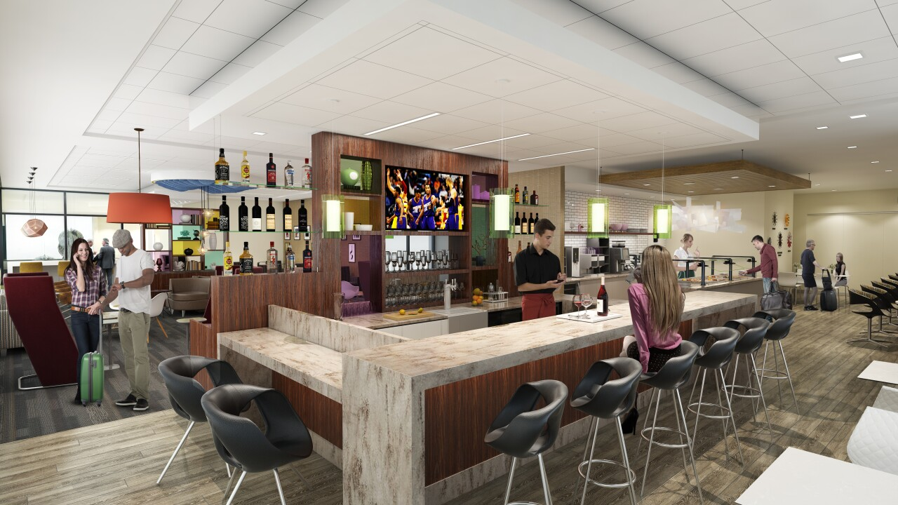 First look: American Express opening two lounges at Phoenix ...