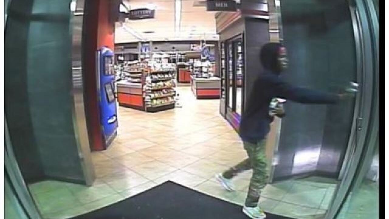 TPD works to identify man who robbed QT stores