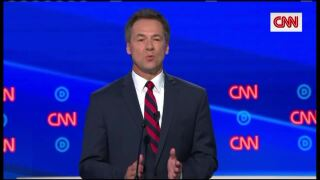 Bullock takes the stage in presidential candidate debate