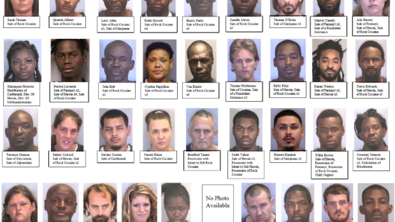 Drug dealer mugshots