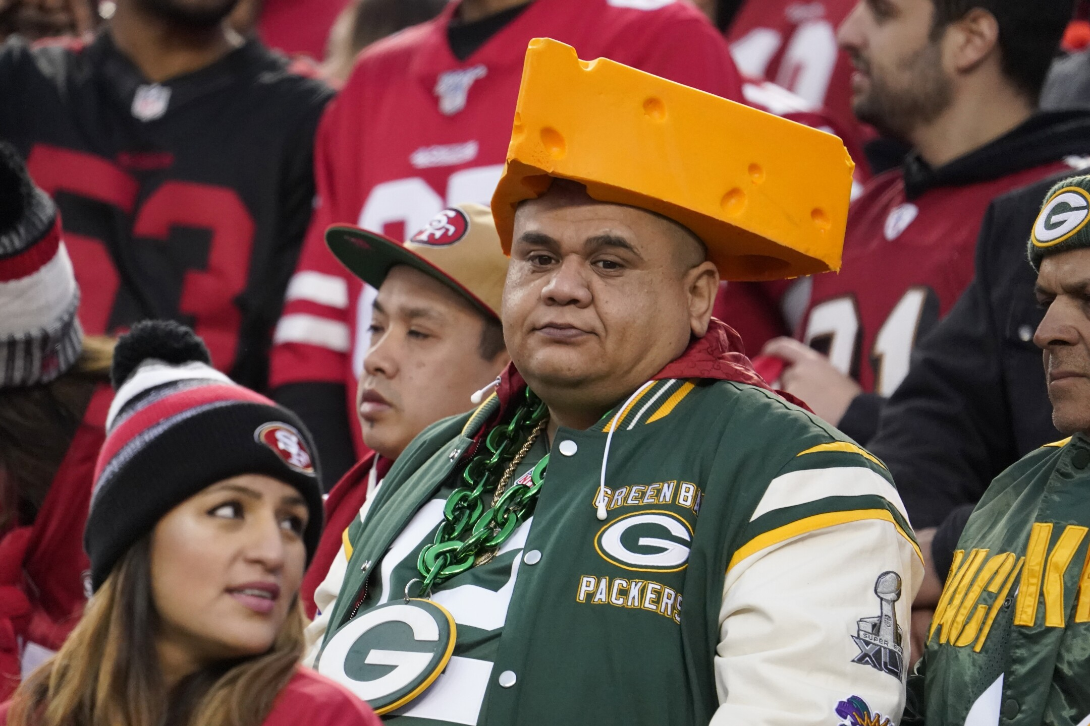 Packers in big trouble in NFC Championship Game [PHOTOS]