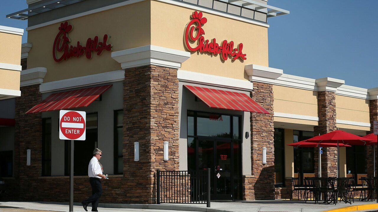 Once again, Chick-fil-A is named America's favorite restaurant chain