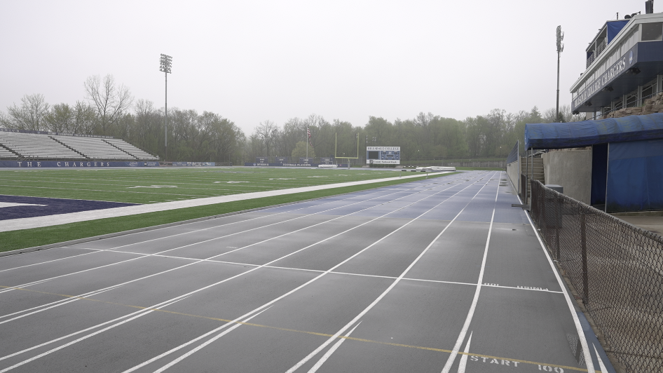 Current Hillsdale College track