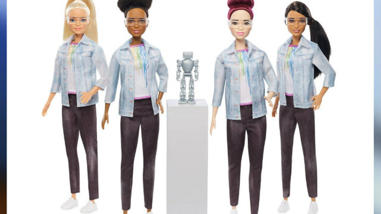 Barbie has new career in robotics engineering