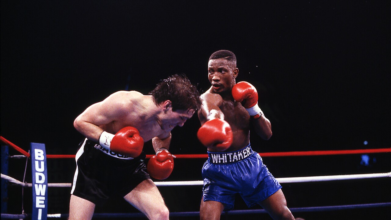 Local boxing legend Pernell 'Sweet Pea' Whitaker dies after being hit by vehicle in VirginiaBeach
