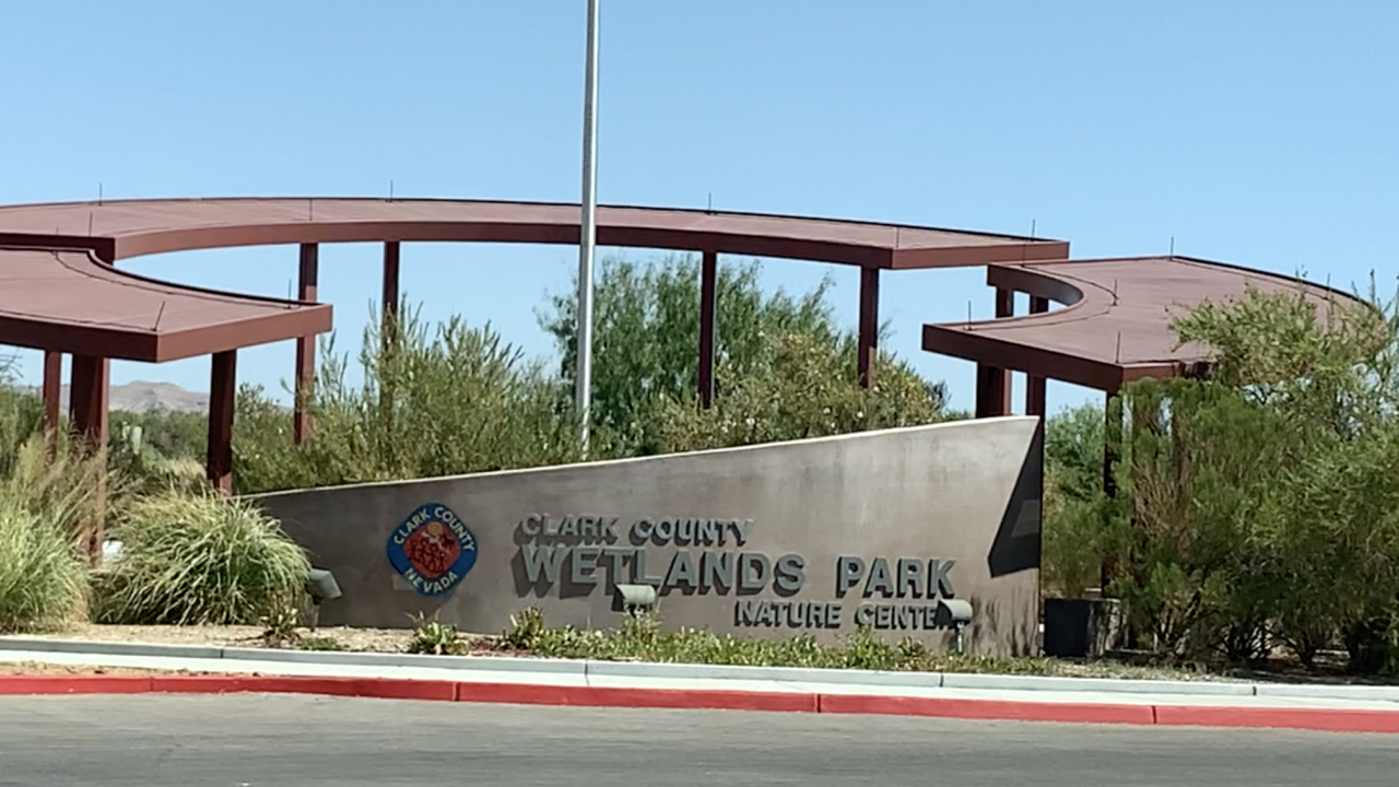 Clark County Wetlands Park sign.png