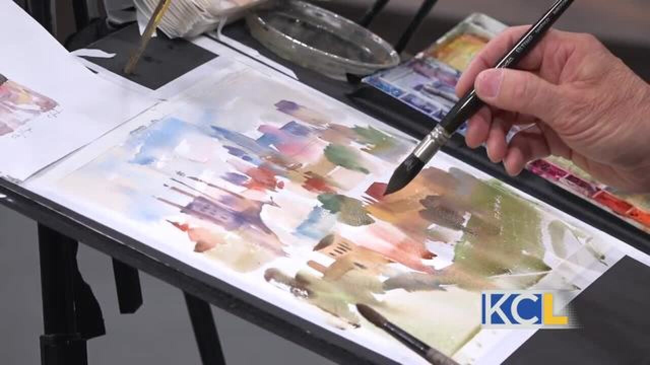 Plein Air art competition showcases 80 artists