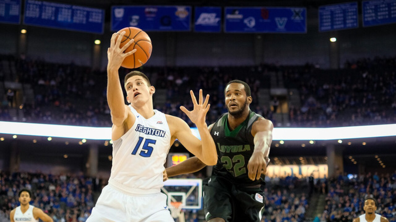 Creighton's Martin Krampelj out for season with torn ACL