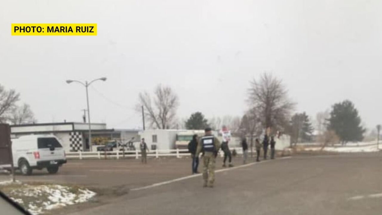 """Protest"" outside Malmstrom AFB was a training exercise"