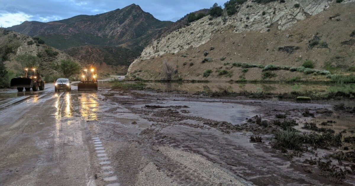 Portion of US-89 closed due to flooding