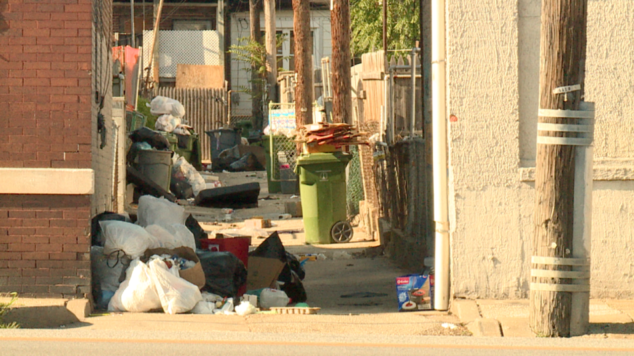 Frustrated residents plan to dump trash at City Hall