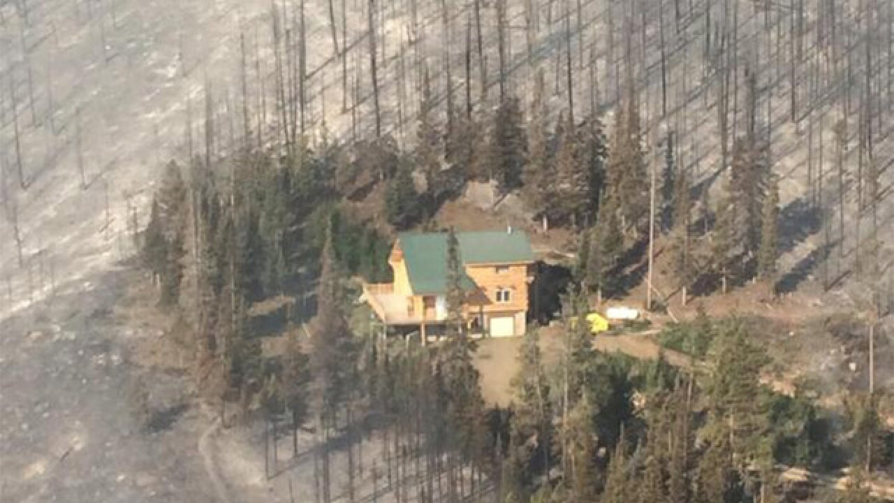 Beaver Creek Fire at 34,756 acres, 18 percent contained