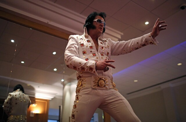 Photos: Elvis Presley impersonators of all shapes, sizes, colors and species
