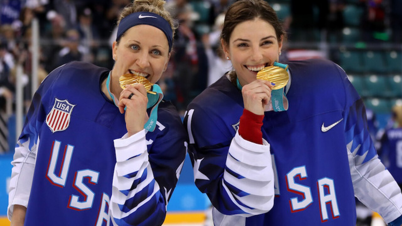 US women's hockey beats Canada, wins first gold since 1998