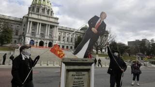 APTOPIX Capitol Breach Demonstrations Pennsylvania