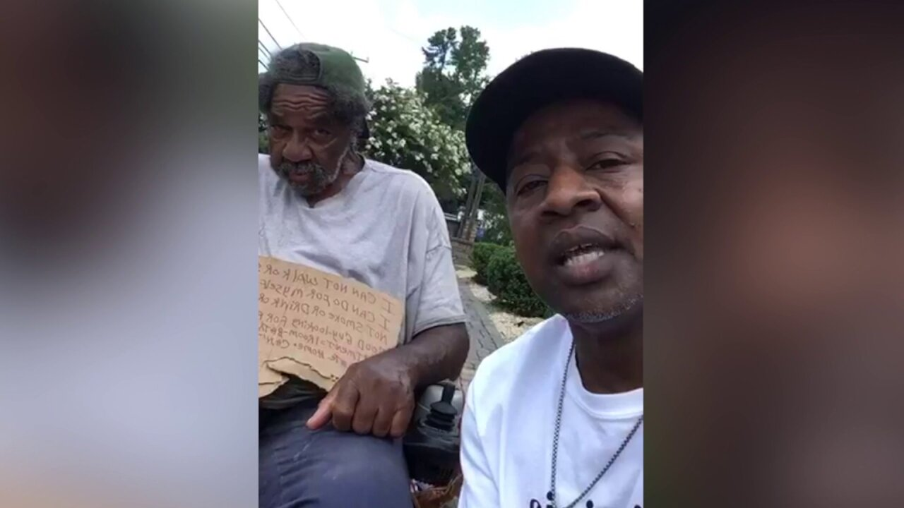 Viral video leads to promise of housing for homeless man