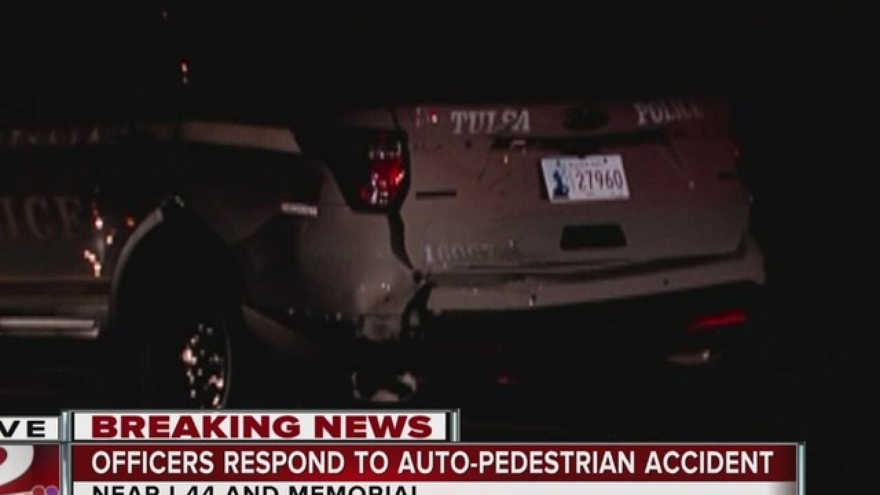 Suspect arrested after hitting patrol car, pedestrian in