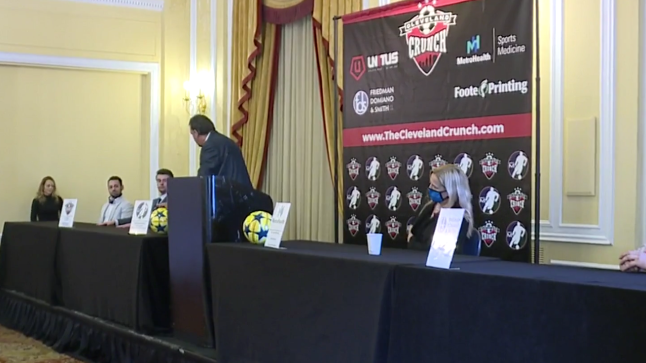 Cleveland Crunch press conference