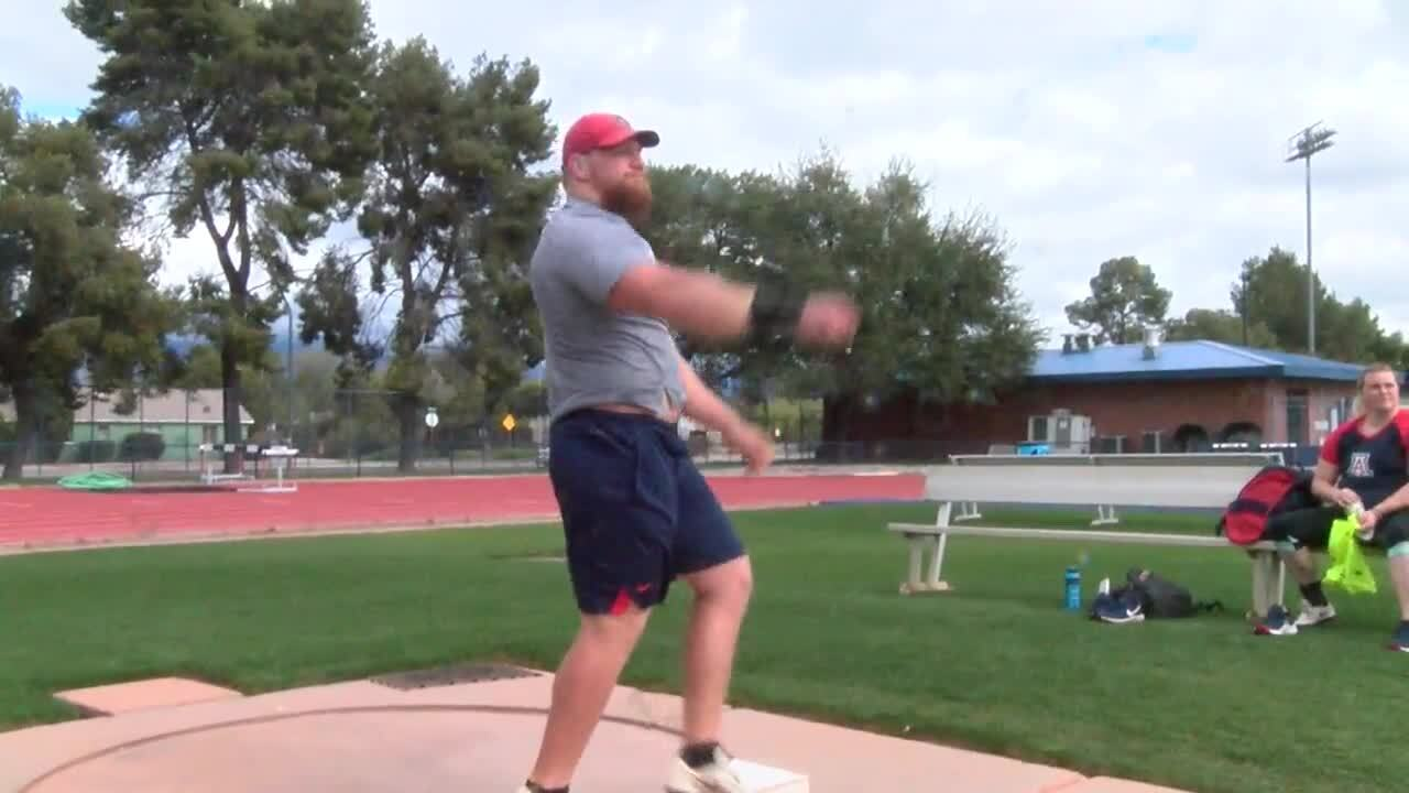 Meet Jordan Geist: UA's Olympic-hopeful shot put prodigy