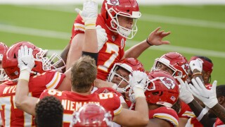 Chiefs Chargers Football Harrison Butker