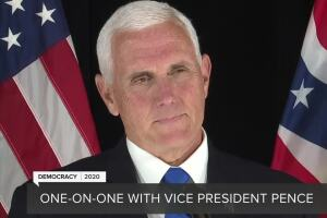 Exclusive one-on-one interview with Vice President Pence about battleground Michigan
