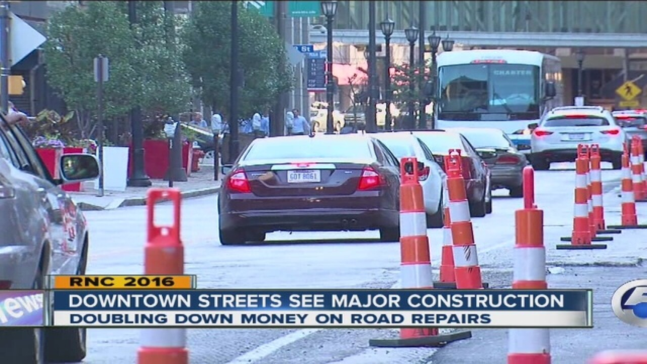 Cleveland under construction: Getting RNC ready