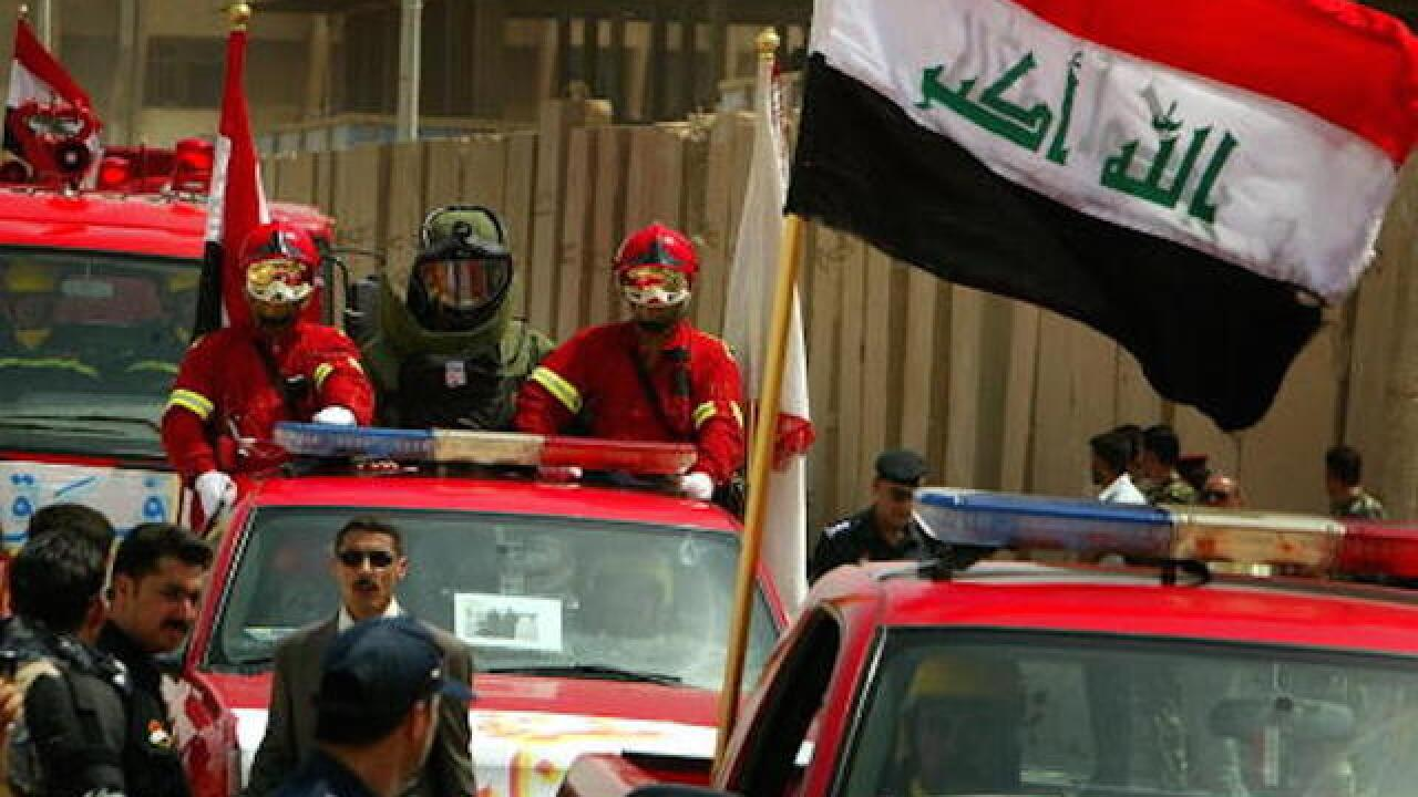 Iraqi troops drive ISIS out of Ramadi