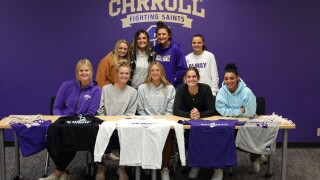 Clare Converse signs with Carroll women's basketball