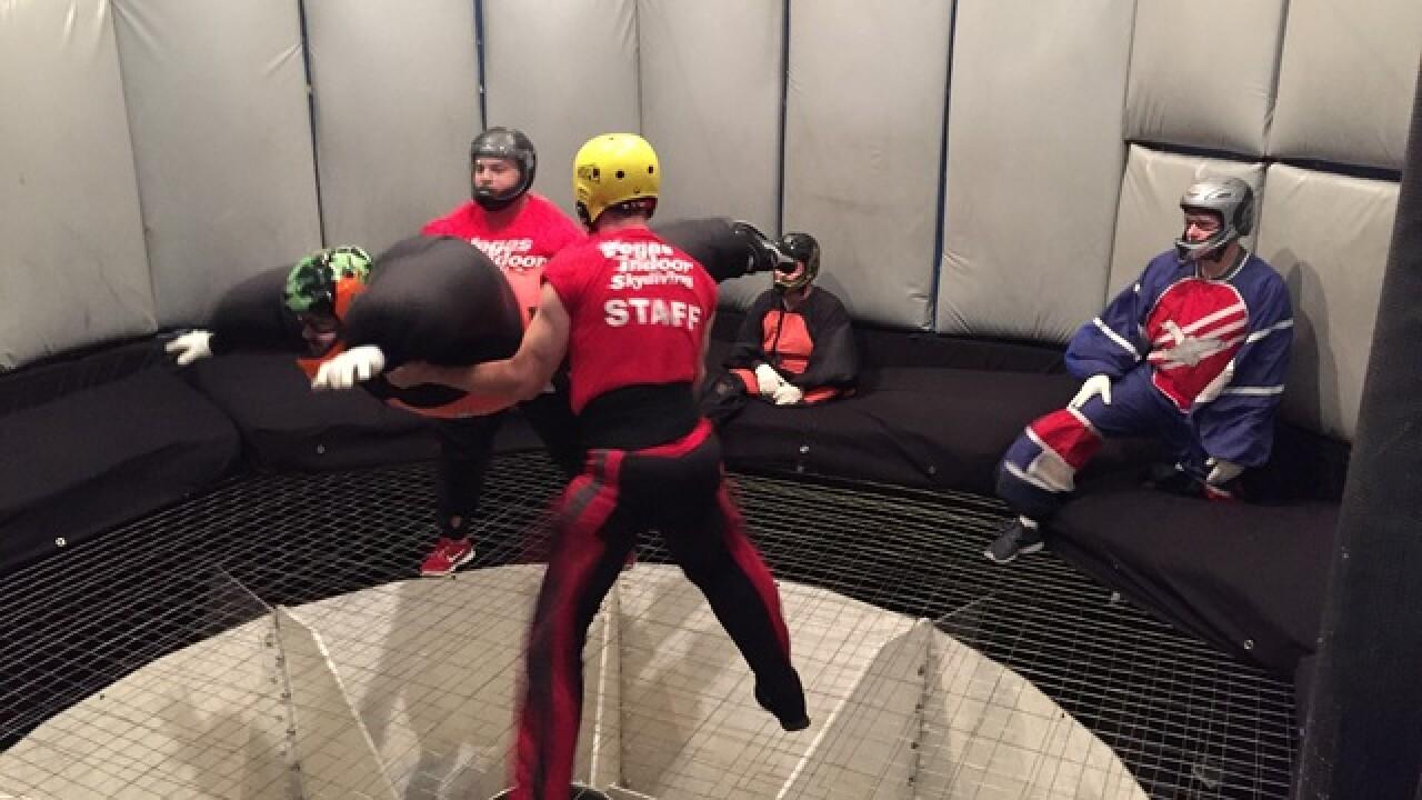 Vegas Indoor Skydiving salutes the troops