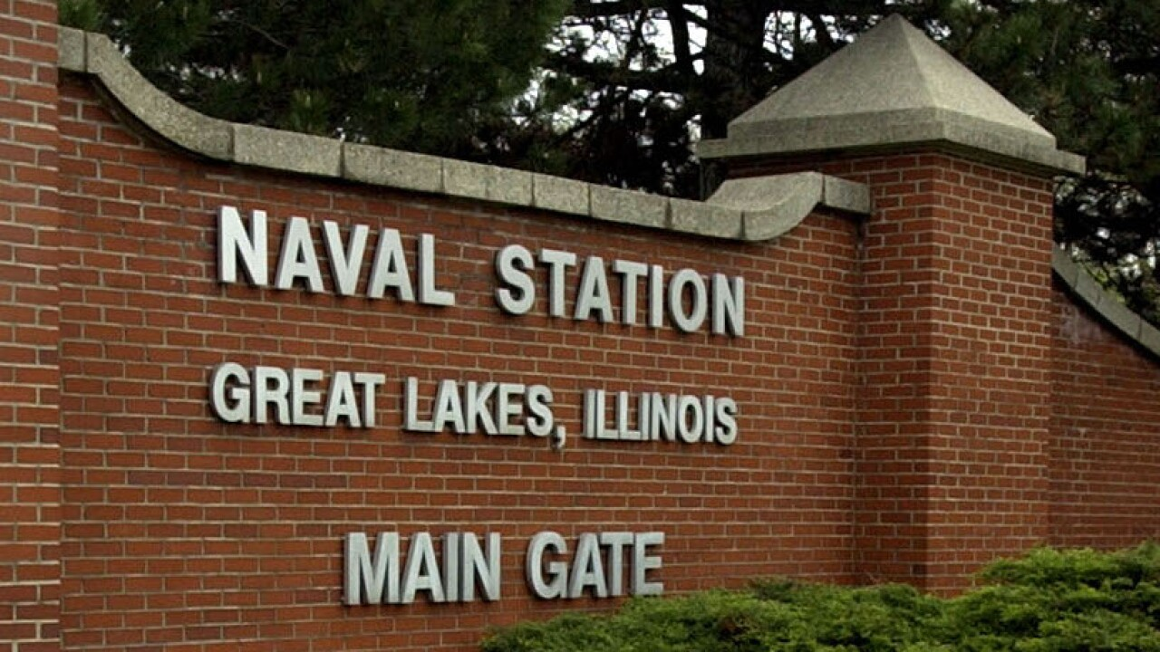 Naval Station Great Lakes on lockdown, officials searching for gate runner