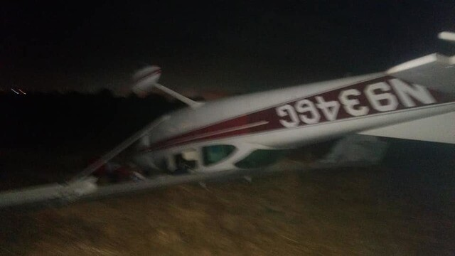 Men injured in emergency landing near Brown Field
