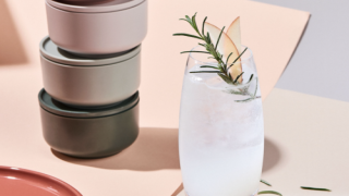 This Apple Rosemary Fizz Cocktail Is Perfect For Fall
