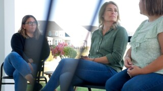 Three women found support in each other while their spouses worked on recovering from addiction